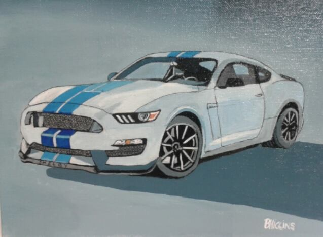 ford mustang shelby gto350