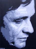 johnny cash 24x20ins copy